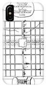 Philadelphia: Map, 1683 IPhone Case