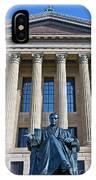 Philadelphia Museum Of Art John Marshall Chief Justice Of The Us  IPhone Case