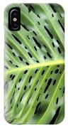 Philodendron 6 IPhone Case