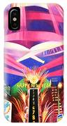 Phish New Years In New York Middle IPhone Case