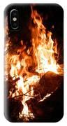 Phoenix Se Levant Des Flammes IPhone Case