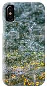Phone Case - Liquid Flame - Yellow 2 IPhone Case