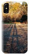 Photographer Shadow IPhone Case