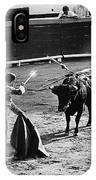 Photographers Including Dick Frontain Bullfight Nogales Sonora Mexico 1969 IPhone Case