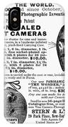 Photography Camera, 1889 IPhone Case
