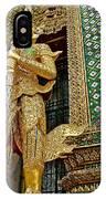 Phra Mondhop At Thai Pagoda At Grand Palace Of Thailand In Bangkok  IPhone Case
