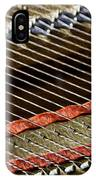 Piano Abstract 6637 IPhone Case