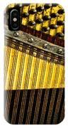 Piano Harp IPhone Case