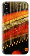 Piano Strings IPhone Case