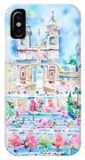 Piazza Di Spagna - Rome IPhone Case