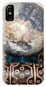 Picasso Marble With Dzi IPhone Case