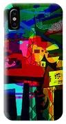 Picasso With A Twist Of Color. IPhone Case