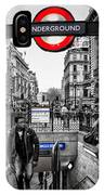 Piccadilly Circus Tube Station Entrance IPhone Case
