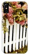 Picket Fence IPhone Case