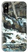 Picnic At The Falls IPhone Case
