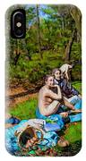 Picnic In The Nude IPhone Case