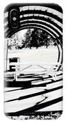 Picnic Table And Gazebo IPhone Case