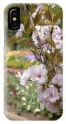 Pictures In The Garden IPhone Case