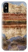 Picturesque Blue Canyon Formations IPhone Case