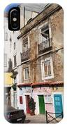 Picturesque Houses In Lisbon IPhone Case