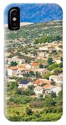 Picturesque Mediterranean Island Village Of Kolan IPhone Case