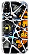 Piece Of Yellow Lamborghini IPhone Case