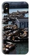Pier 39 San Francisco Bay IPhone X Case