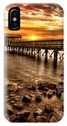 Pier At Smith Mountain Lake IPhone Case