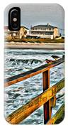 Pier Fishing 2 IPhone Case