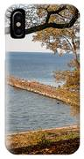 Pier In The Fall IPhone Case