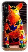Pig Art Statuary Leaves IPhone Case