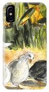 Pigeons In Benidorm IPhone Case