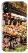 Pike Place Veggies IPhone Case