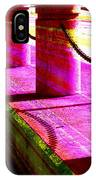 Pillars And Chains - Color Rays IPhone Case