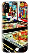 Pinball Alley IPhone Case