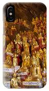 Pindaya Cave With More Than 8000 Buddha Statues Myanmar IPhone Case