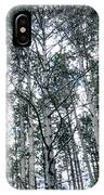 Pine Abstract IPhone Case