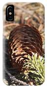 Pine Cone And Small Branch IPhone Case