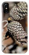 Pine Cone Perfection IPhone Case