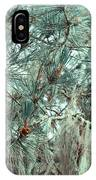 Pine Cones And Lace Lichen IPhone Case