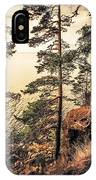 Pine Trees Of Holy Island IPhone Case