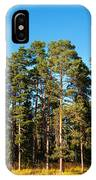 Pine Trees Of Valaam Island IPhone Case