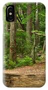 Pinewood Path IPhone Case