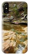 Piney Creek In Southern Illinois IPhone Case