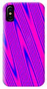 Pink And Blue Abstract IPhone Case