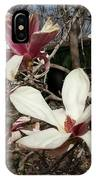 Pink And White Spring Magnolia IPhone Case