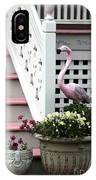 Pink At The Shore House IPhone Case