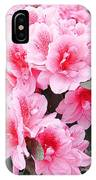 Pink Azalea In Bloom IPhone X Case