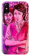 Pink Beatles From Rainbow Series IPhone Case