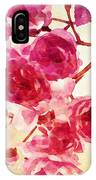 Pink Blossom - Watercolor Edition IPhone Case